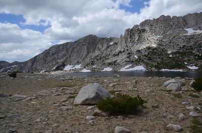 Silver Pass Lake.