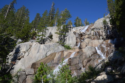 Silver Pass Creek Falls.