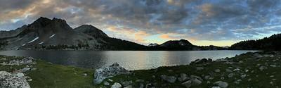 Lake Virginia sunrise panorama.