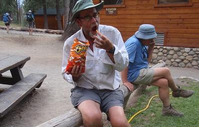 Best Cheetos he'd ever eaten. Photo by Jill Haak.