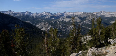 Looking down into impressive Cascade Valley.