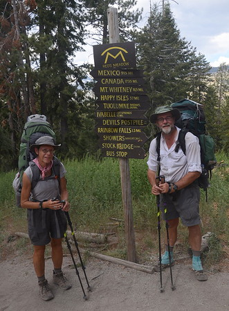 With clean clothes, clean bodies, and full stomachs, we were ready to hit the trail for our final week on the JMT.