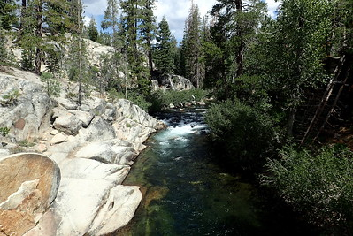 Middle Fork San Joaquin River, upstream. Photo by Chuck Haak.
