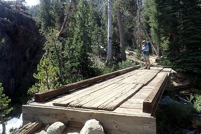 Shadow Creek bridge. Photo by Chuck Haak.