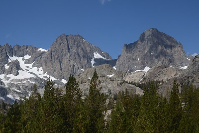 Mount Ritter and Banner Peak.