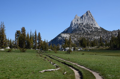 I couldn't stop looking back at Cathedral Peak!