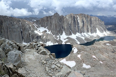 Mt. Hitchcock and Hitchcock Lakes. Photo by Chuck Haak.