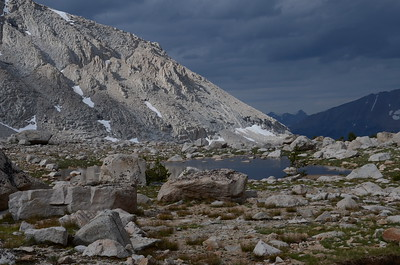 As Chuck and Jill continued on the trail up Mt. Whitney, I took a leisurely stroll back to our camp at Crabtree Meadow.