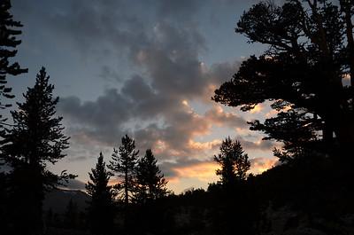 Tyndall Creek sunrise.