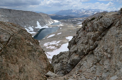 The view to the south from Forester Pass.
