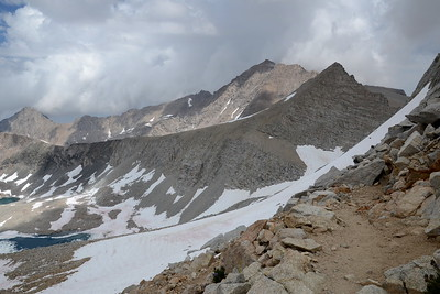 The view to the east from Forester Pass.