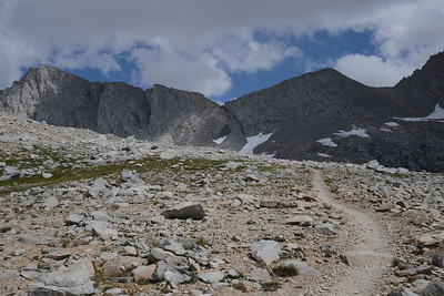 Getting closer to Forester Pass.