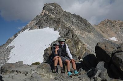 Chuck and Jill on Glen Pass.