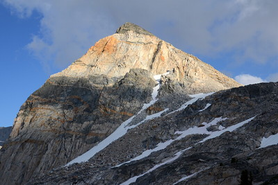 My first shot of the stunning peak called the Painted Lady. I'm madly in love with this peak so you will see countless photos of her in the upcoming two days.