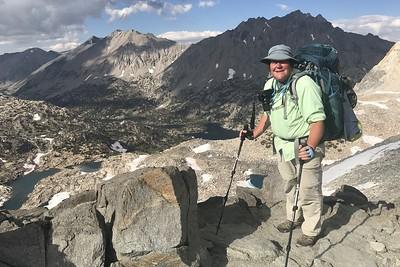 Me on Glen Pass. Photo by Chuck Haak.