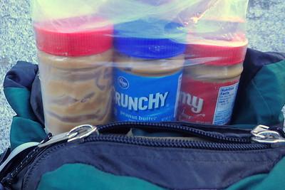Chuck and Jill love peanut butter. Photo by Chuck Haak.
