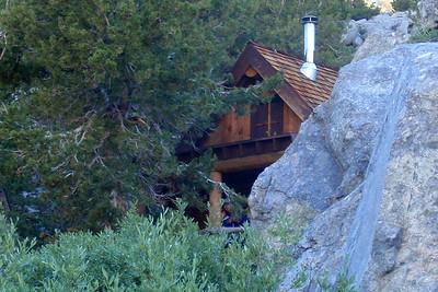 Rae Lakes ranger cabin. Photo by Jill Haak.