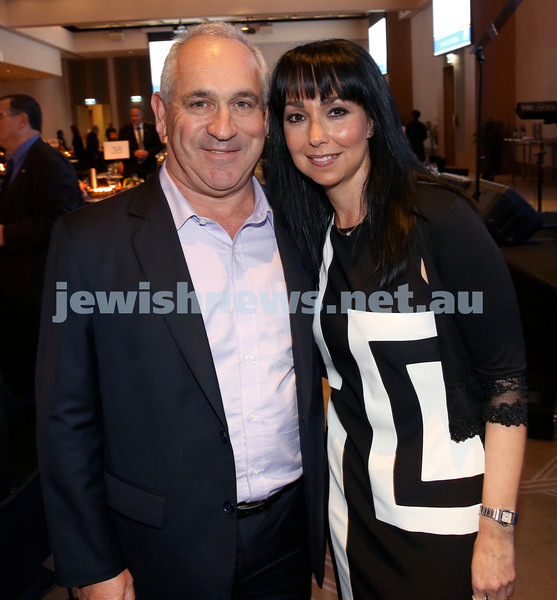 JNF Gala Dinner at Randwick Racecourse. Anthony Resnick (left), Brady Yoshia. Pic Noel Kessel.
