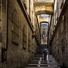 Transversal de la Via Dolorosa en Jerusalén, Israel.