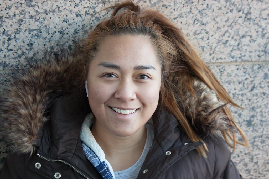 BU Journalism Student Beatriz Reyez