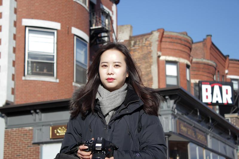 Hyunji Lee Captured Using a Wide Aperature