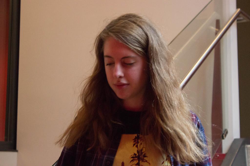 Rachel Callahan is currently enrolled in Visual Journalism. 2.12.18