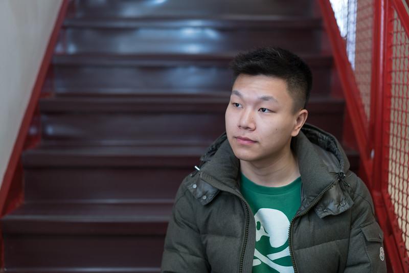 Dengfeng Yang bounce portrait