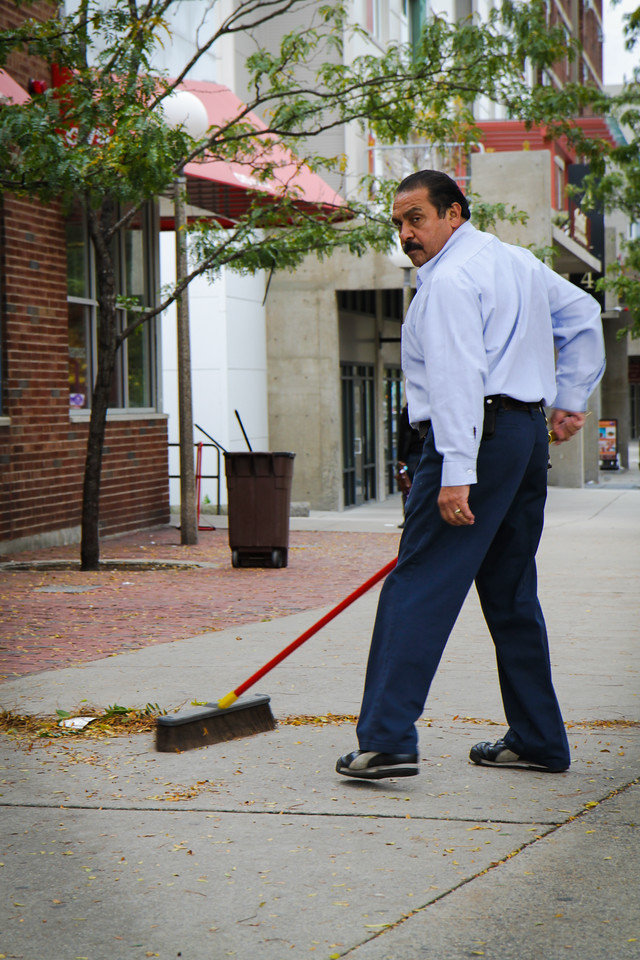 Cleaning the Streets