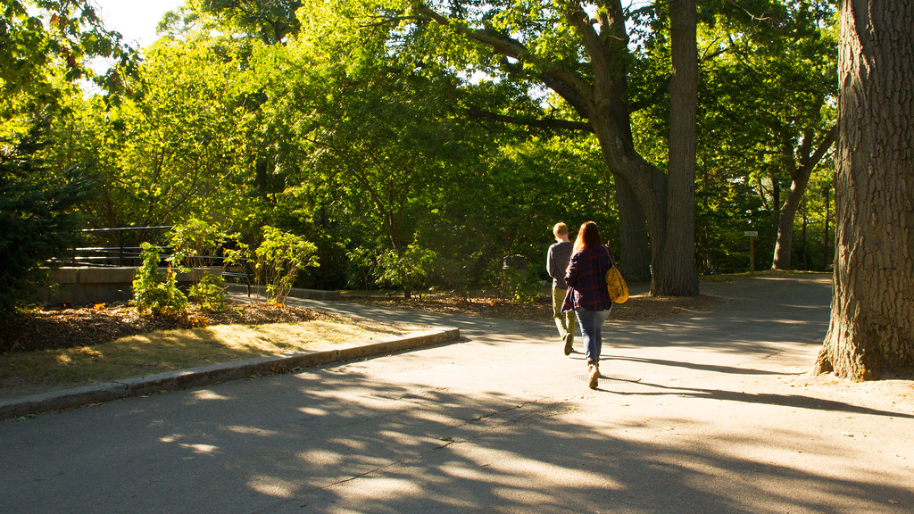 Grace Raver and Cody Sullivan in Franklin Park Zoo, Boston, Mass.
