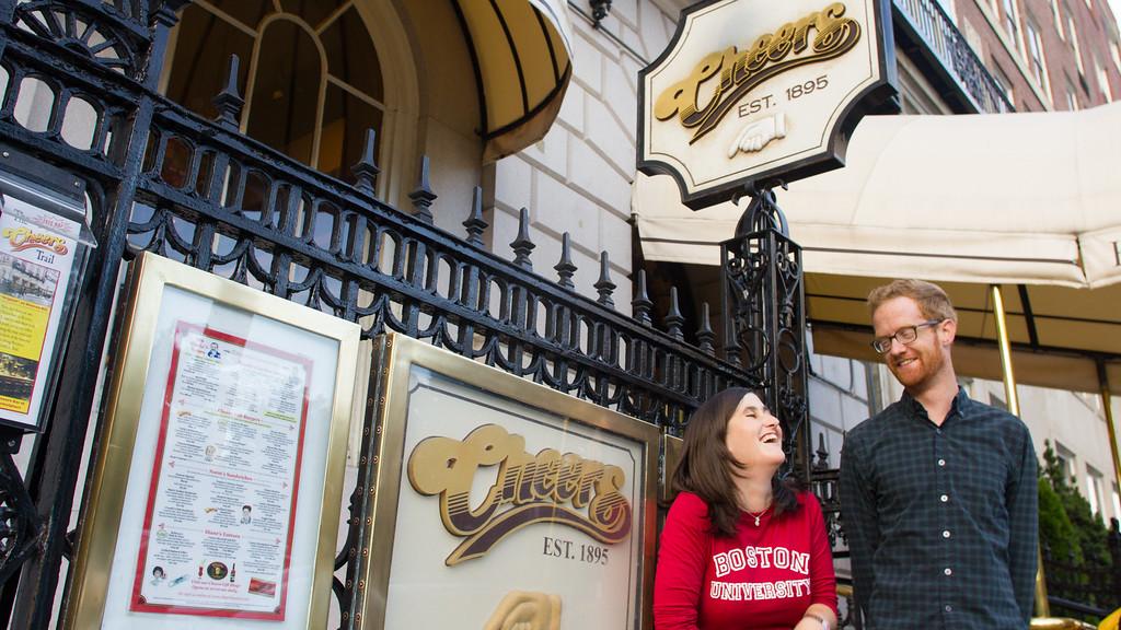 Caitlin Bawn and Cody Sullivan explore Boston