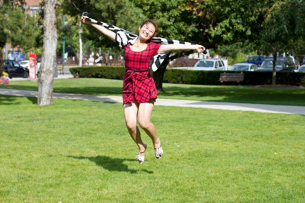 Xuedong Wang, Jumping.
