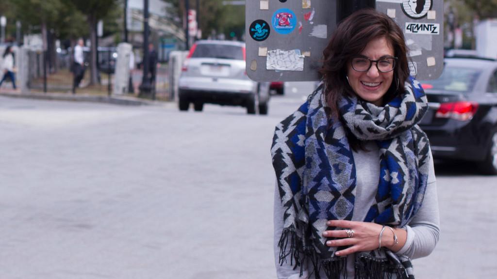 Rebecca Sananes, BU Journalism Student, September 14, 2014
