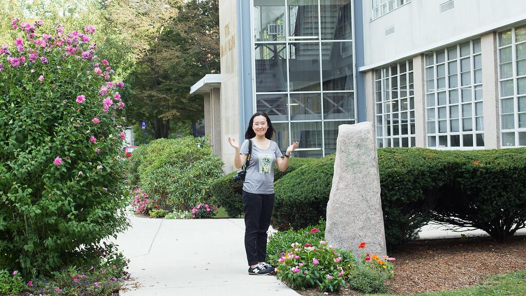 Yanshu Li, 29, from China is a Business and Economics journalism grad student at BU.