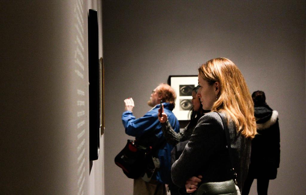 The Beginning of M.C. Escher Exhibition.