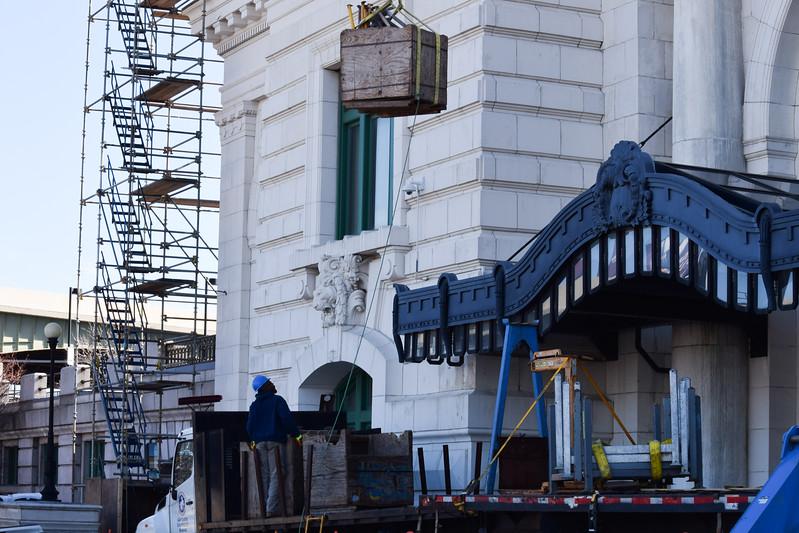Union Station repairs