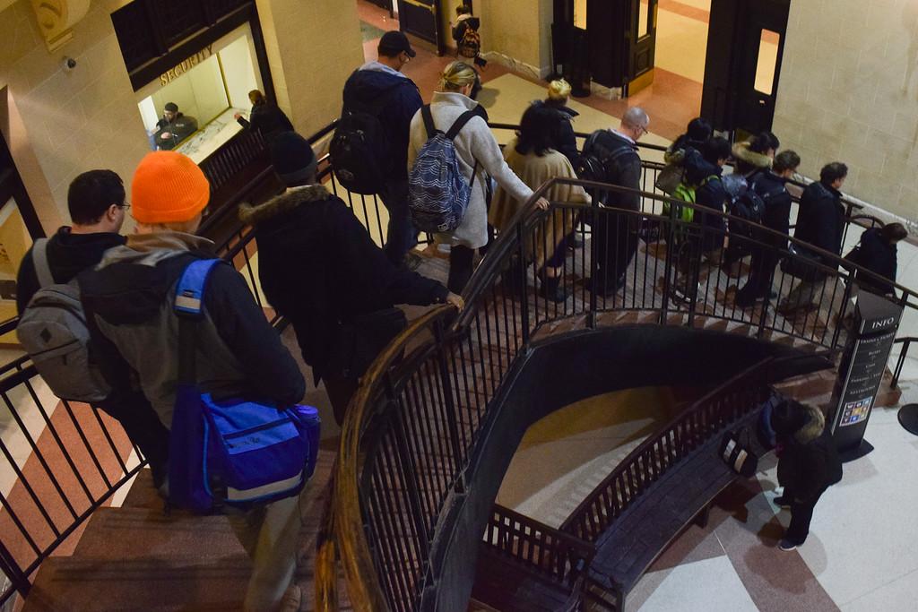 Union Station commuters