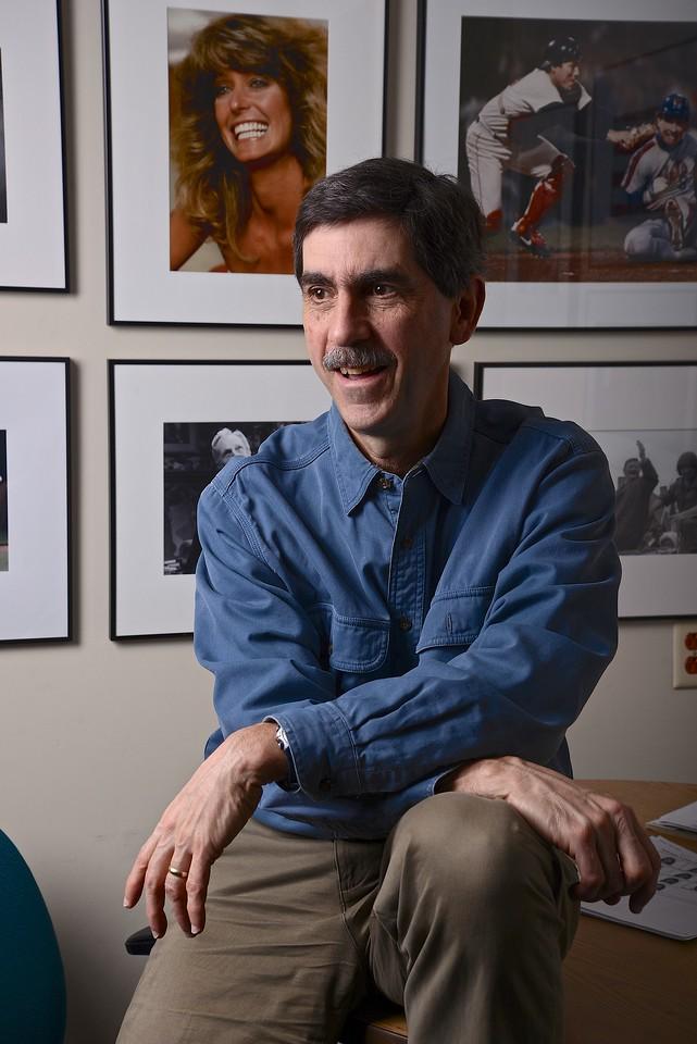 Feb. 21, 2013- Environmental portrait of Boston University professor and Director of Photography, Peter Southwick.<br /> Photo by: Jasmin Bleu Pellegrino