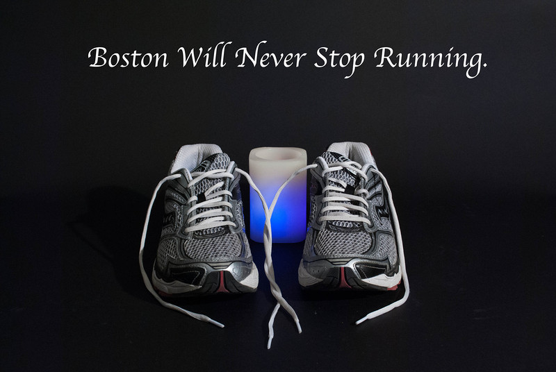Boston Marathon Tribute by Roneil Smith