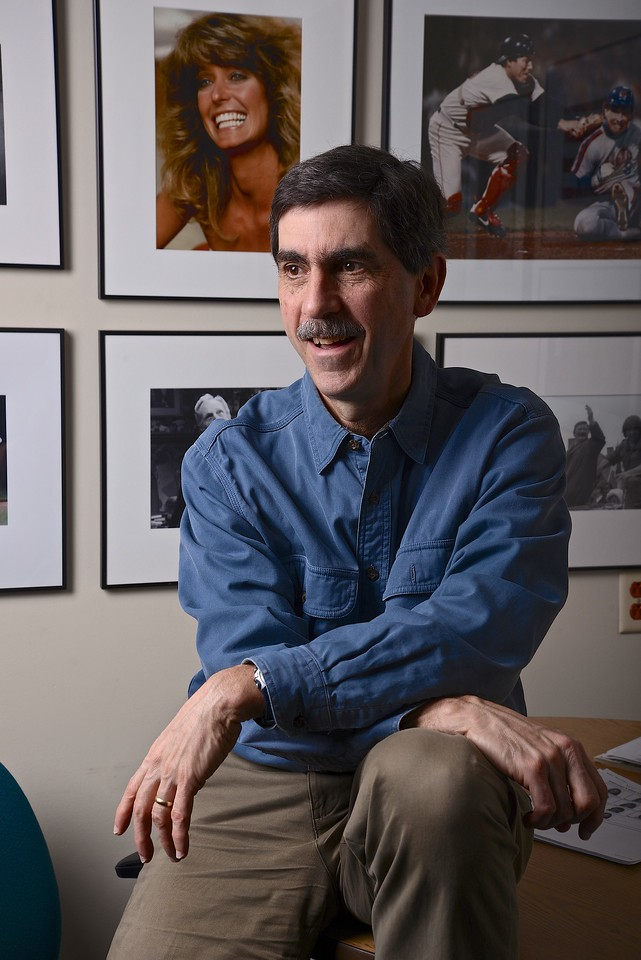 Feb. 21, 2013- Environmental portrait of Boston University professor and Director of Photography, Peter Southwick.<br /> Photo by: Jasmin Bleu Pellegrino