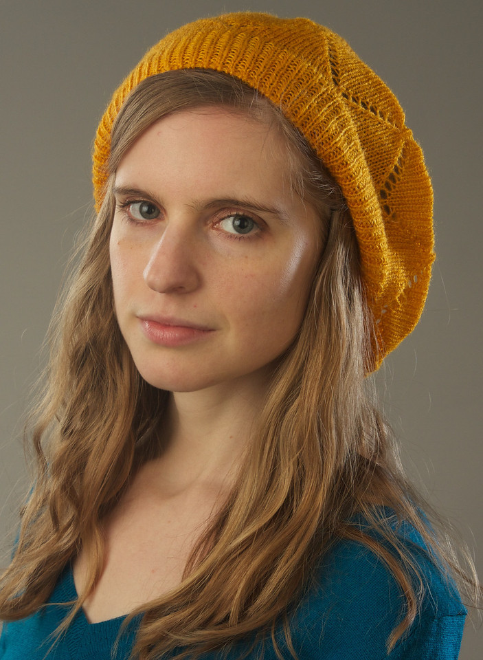 Alexa Gonzalez Wagner at Prof. Peter Smith's studio for a lighting class on Feb 6, 2013.