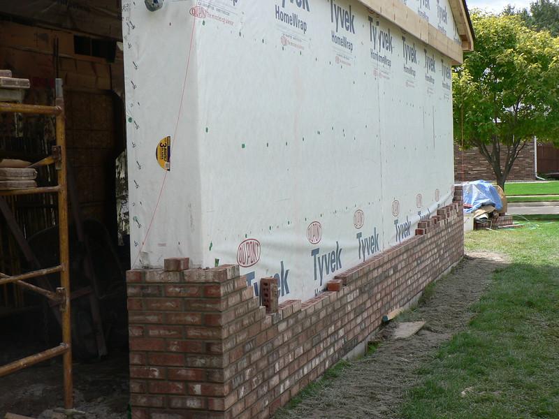 Brick layout