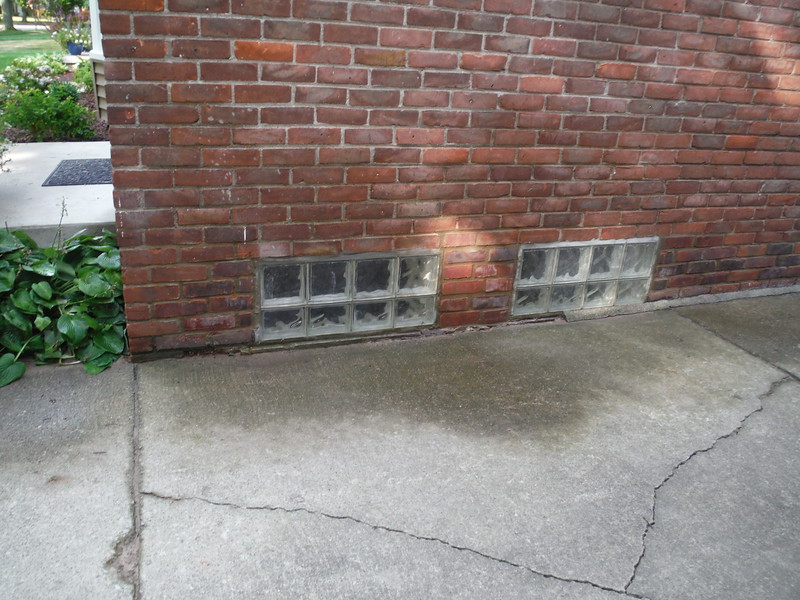 Miscellaneous brick replacement