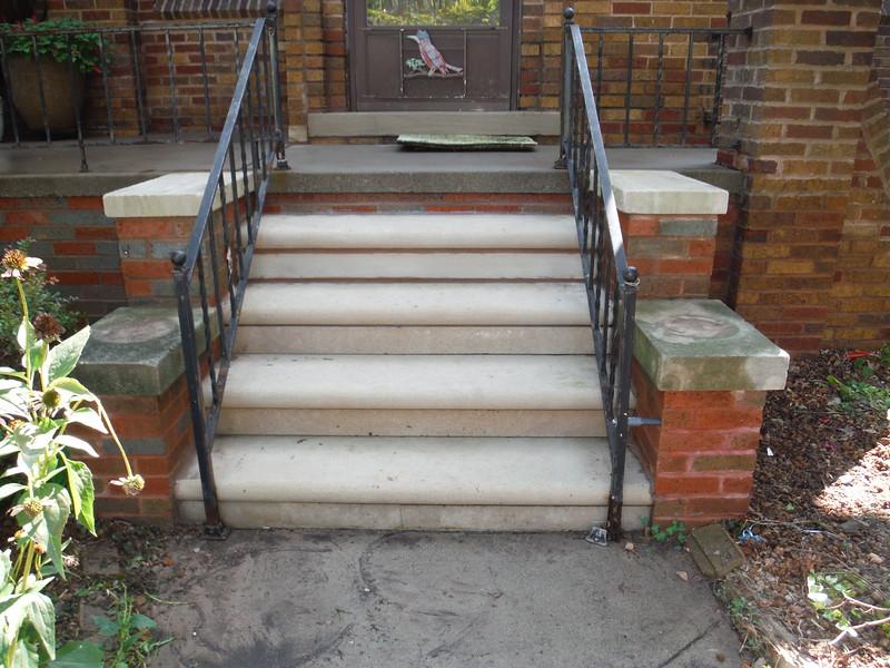 Brick and step repair