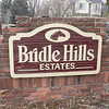 SUBDIVISION SIGN BEFORE REPAIR