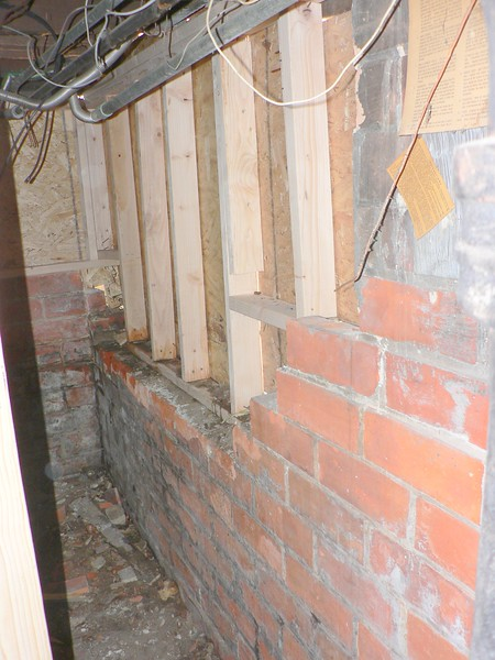 HOUSE DAMAGED BY VEHICLE BEFORE ( INSIDE )