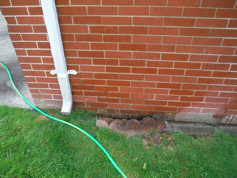 Miscellaneous brick and mortar repairs