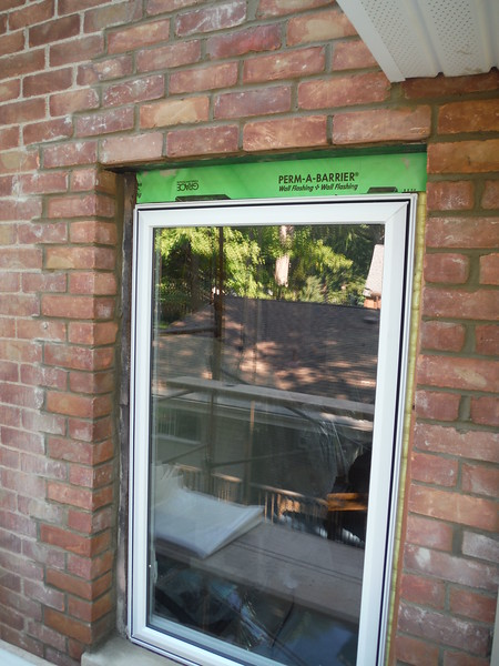 Brick opening for new window