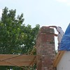 CHIMNEY ALMOST COMPLETE