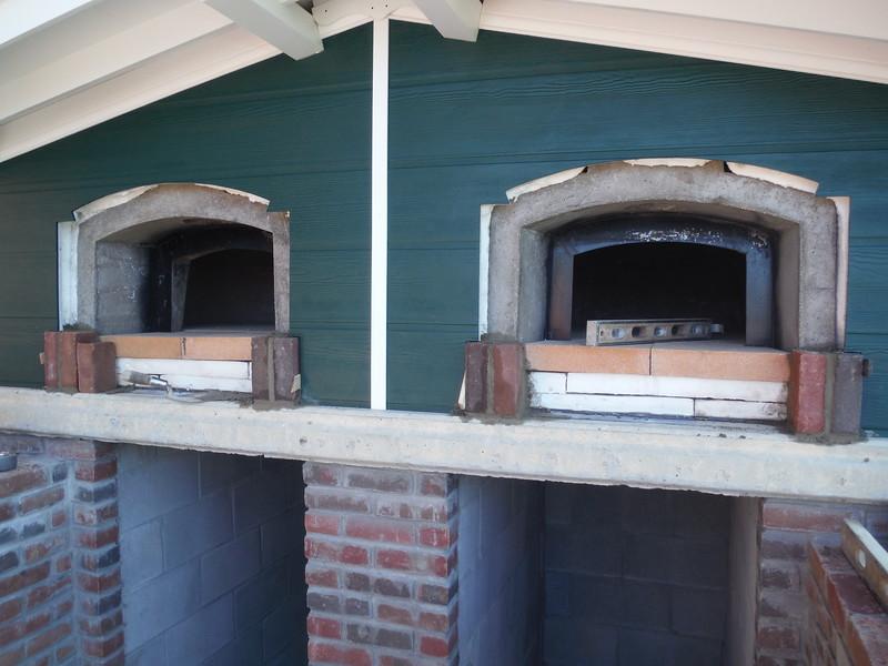 Pizza ovens_brick trim