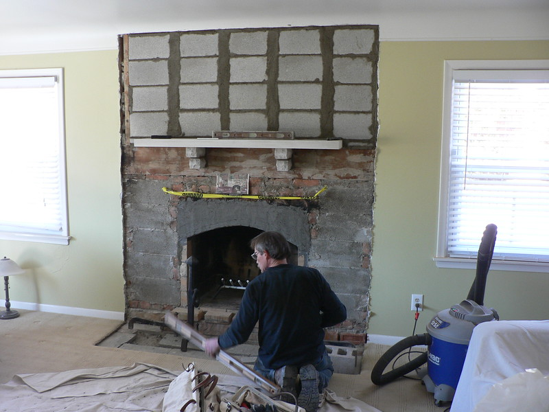 LAYING OUT THE HEARTH